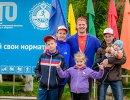 Участники Всероссийского фестиваля ГТО среди школьников