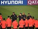 Футболисты и тренерский штаб сборной Чили