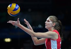 Волейболистка сборной России Ирина Фетисова