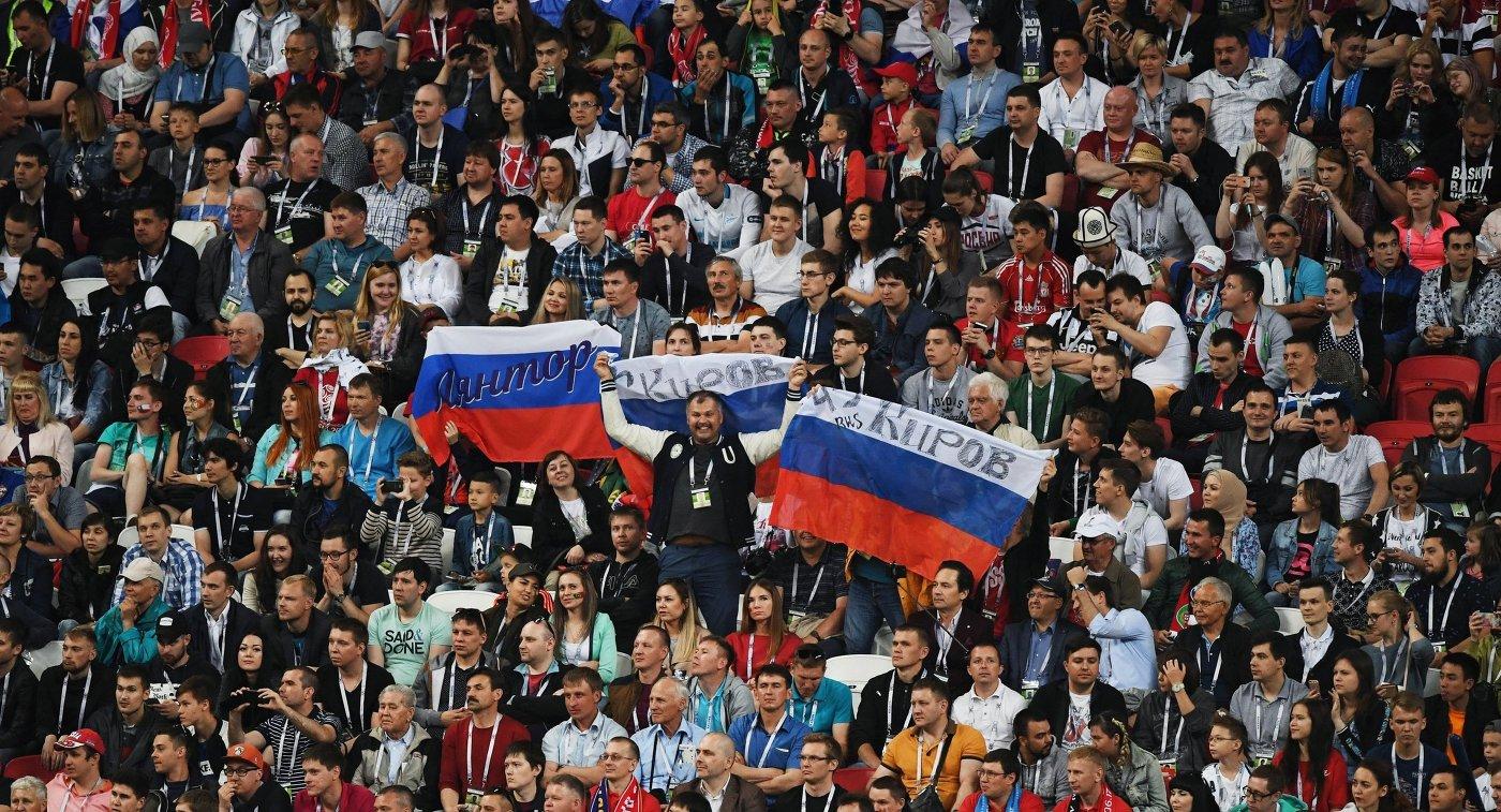 12:21Россияне убеждены: ЧМ-2018 пофутболу посетят множество болельщиков