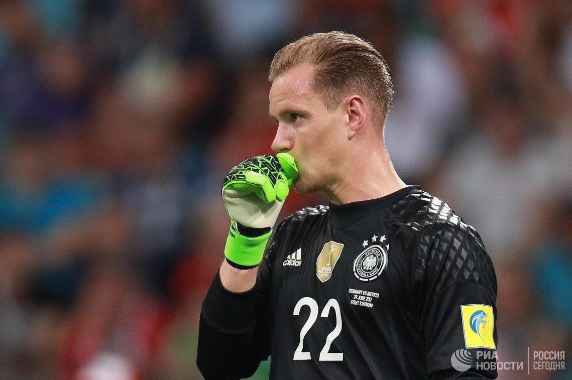 Вратарь сборной Германии Марк-Андре тер Штеген