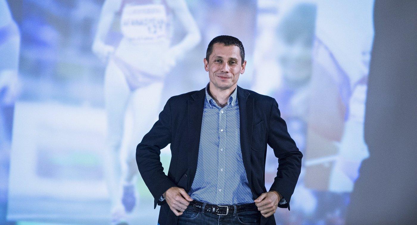 Главный тренер сборной России по лёгкой атлетике Юрий Борзаковский