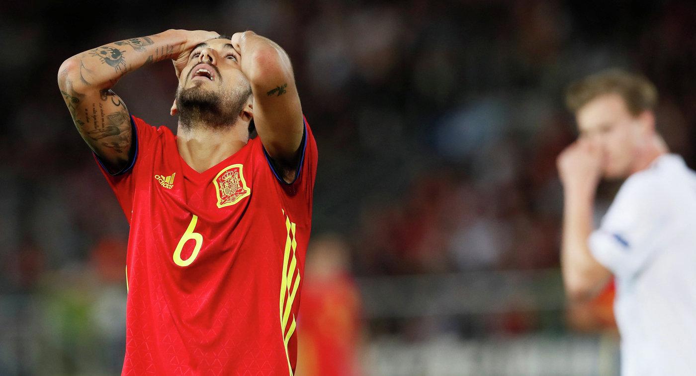 Полузащитник Бетиса и молодежной сборной Испании Дани Себальос
