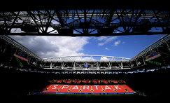 Стадион Спартак в Москве, на котором состоится матч за третье место Кубка конфедераций-2017 между сборными Португалии и Мексики