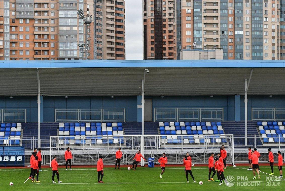 Футболисты сборной Чили