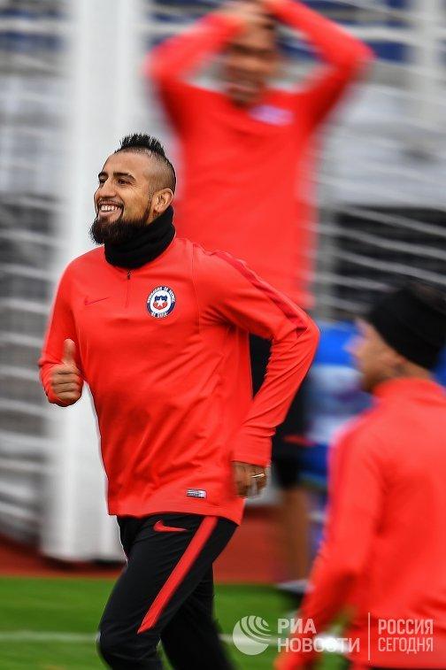 Полузащитник сборной Чили Артуро Видаль