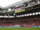 Зрители на трибунах стадиона Спартак перед началом матча за третье место Кубка конфедераций-2017 между сборными Португалии и Мексики