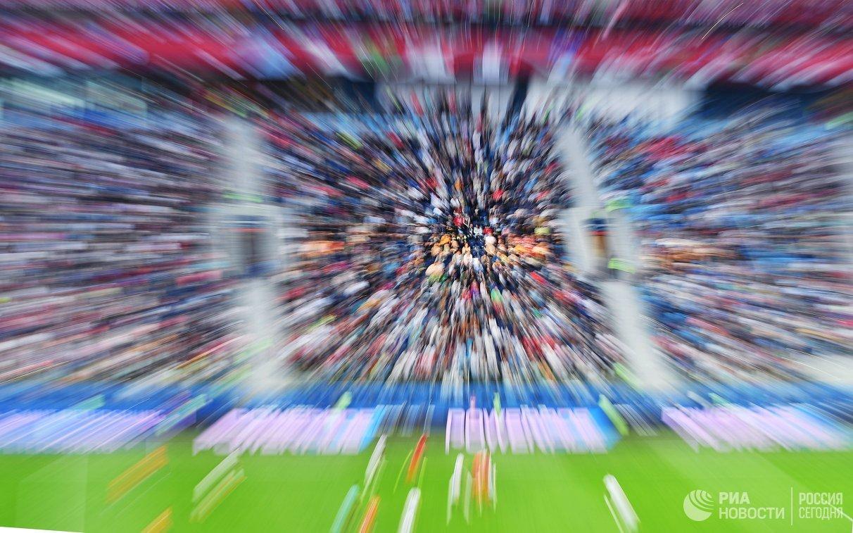 Зрители во время финала Кубка конфедераций между сборными Чили и Германии