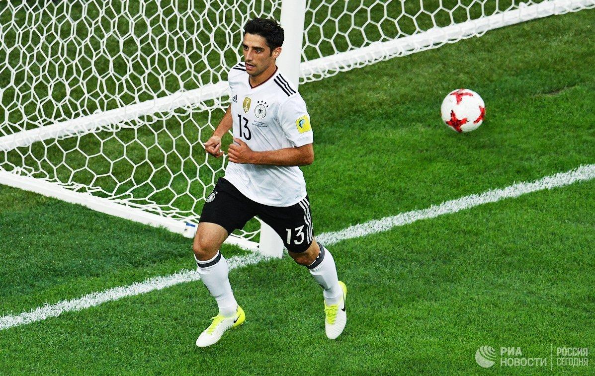Нападающий сборной Германии по футболу Ларс Штиндль
