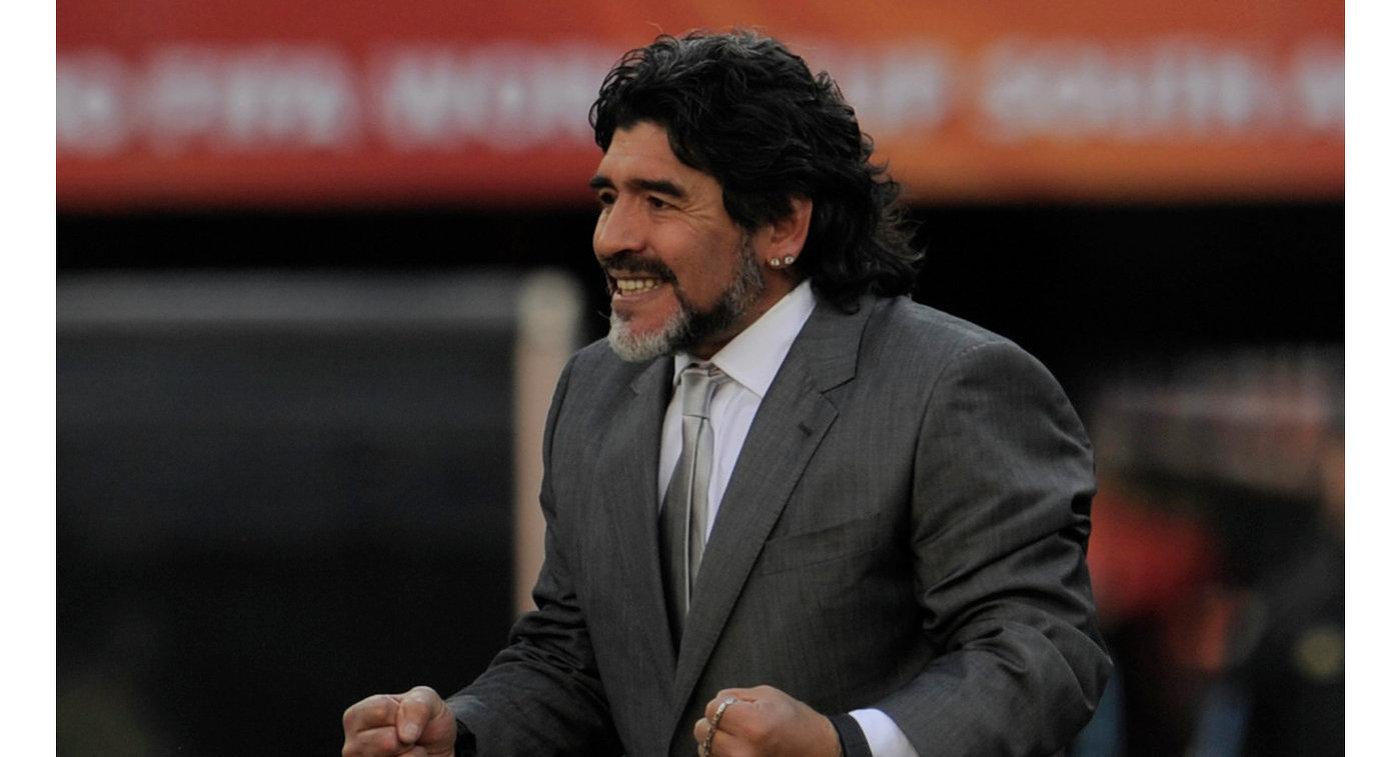 Марадона вполне может стать новым основным тренером брестского «Динамо»