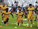 Футболисты казахстанского Кайрата