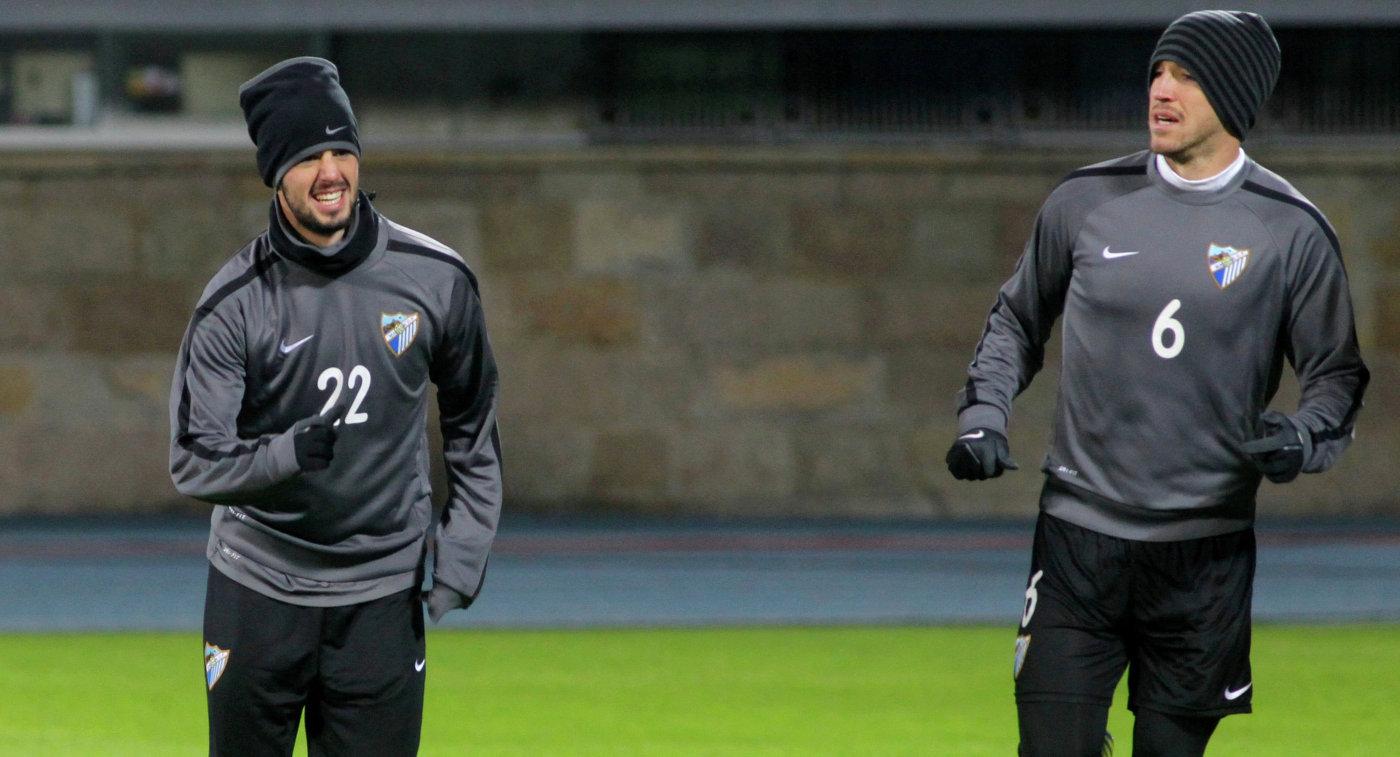 Иско (слева) и Игнасио Камачо