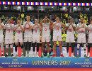 Волейболисты сборной Франци