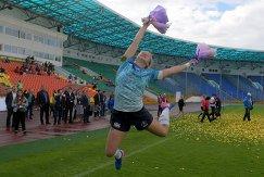 Игрок сборной России Арина Быстрова