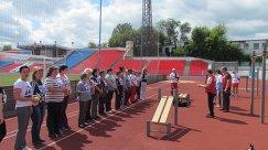 Сотрудники Комплексного центра социального обслуживания населения Саратова выполняют нормативы ГТО