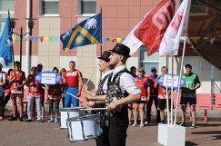 Церемония открытия первого регионального фестиваля ГТО среди взрослых Тюменской области