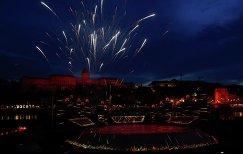 Церемония открытия чемпионата мира по водным видам спорта в Будапеште