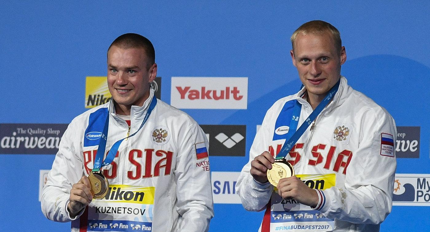 Евгений Кузнецов и Илья Захаров (слева направо)