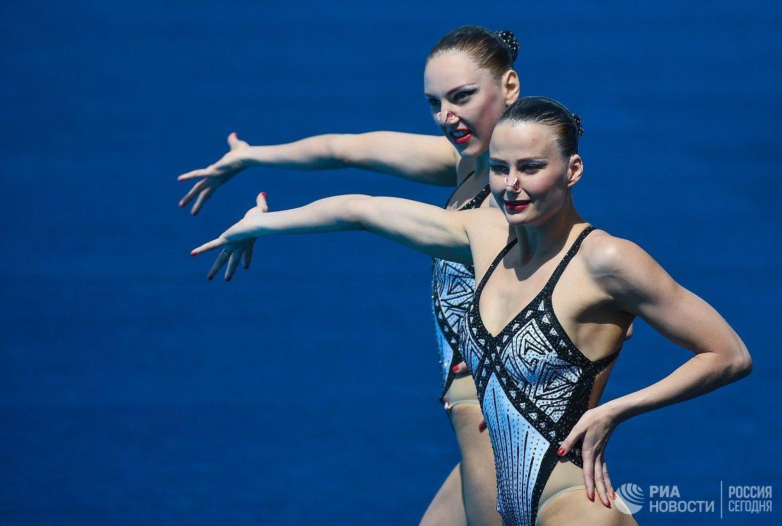 Светлана Колесниченко и Александра Пацкевич (справа)