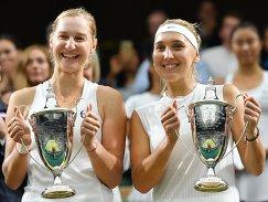 Слева направо: Екатерина Макарова и Елена Веснина