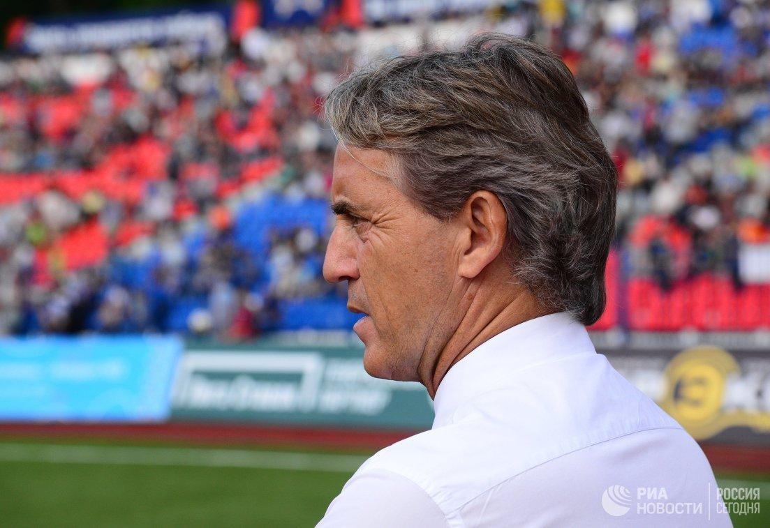 Главный тренер ФК Зенит Роберто Манчини