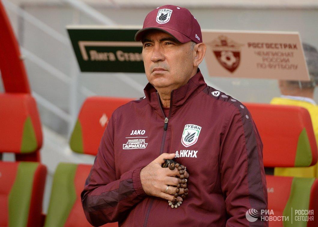 Главный тренер ФК Рубин Курбан Бердыев
