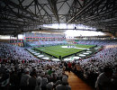 Болельщики на трибунах стадиона Ахмат-Арена