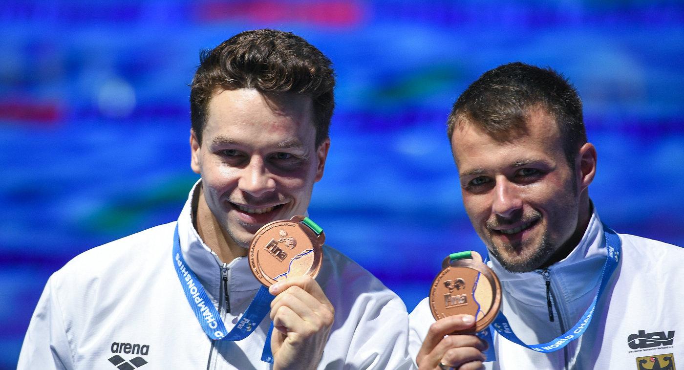 Саша Кляйн (справа) и Патрик Хаусдинг