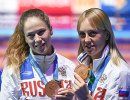 Кристина Ильиных (слева) и Надежда Бажина