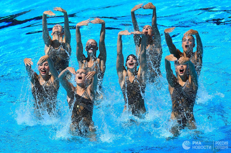 музыка мп3синхронное плавание сборной россии рио 2016групповое выступление