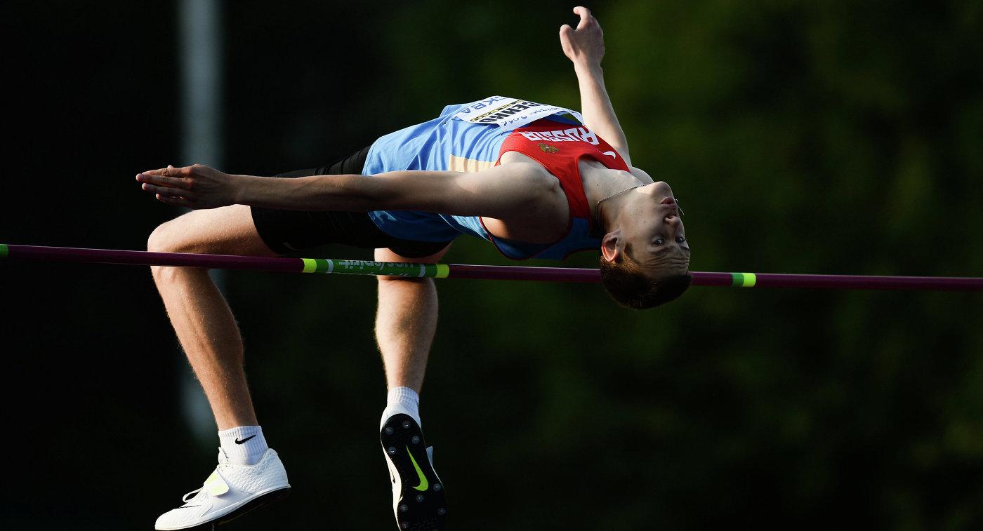 Российский легкоатлет Данил Лысенко