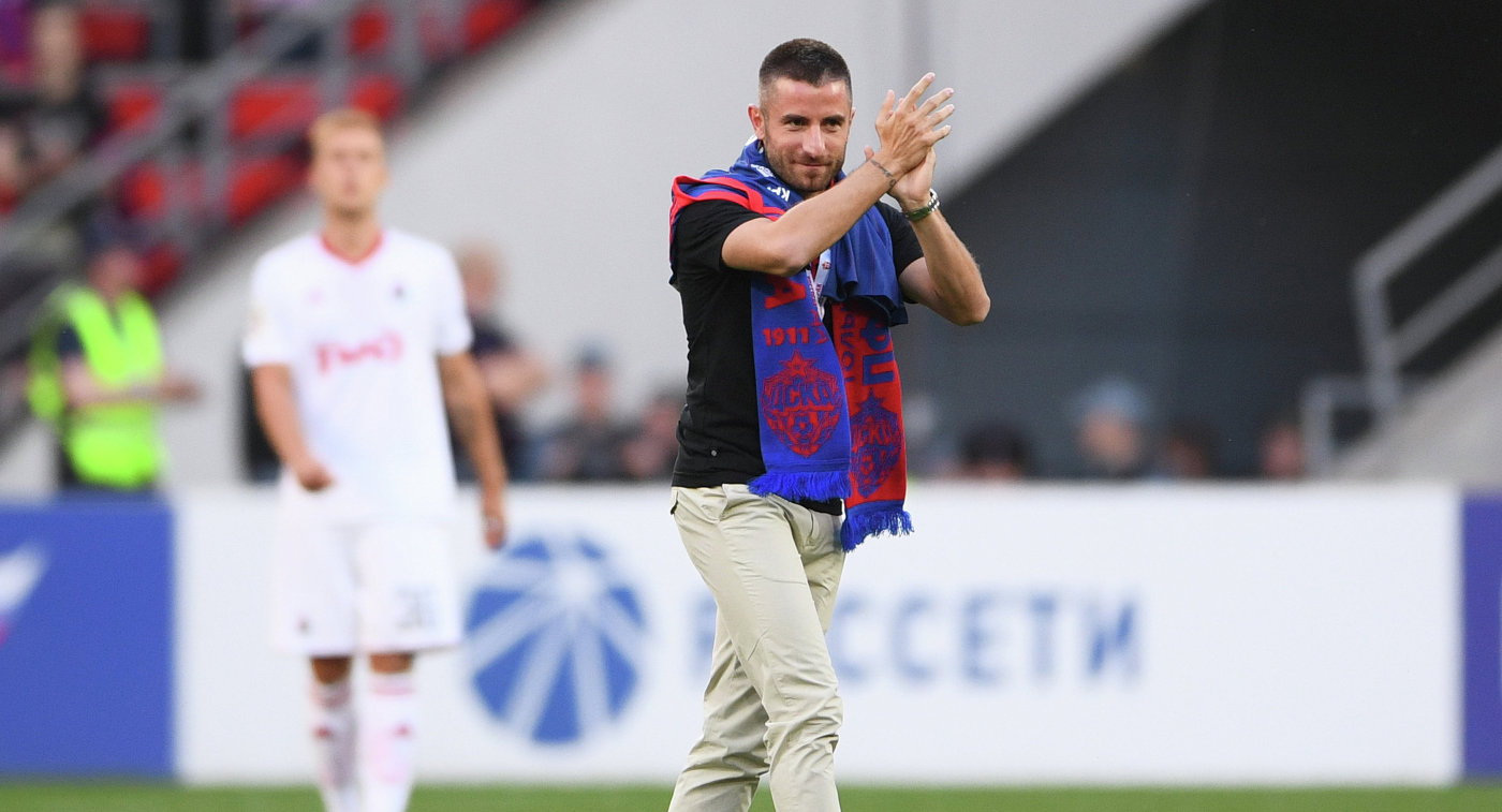 Прежний игрок ЦСКА Зоран Тошич вполне может стать игроком «Партизана»