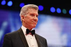 Профессиональный конферансье в мире бокса Майкл Баффер