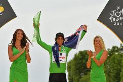 Велогонщик Майкл Мэттьюс из команды Sunweb