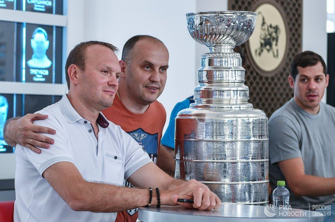 Сергей Гончар (слева) и Евгений Малкин (справа)