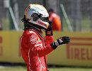 Пилот Феррари Себастьян Феттель после окончания квалификации Гран-при Венгрии