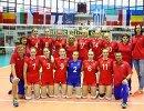 Игроки женской сборной России по волейболу до 16 лет
