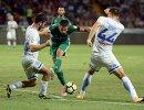 Игровой момент матча Ахмат - Динамо