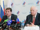 Александр Жуков (слева) и Виталий Смирнов