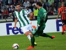 Боснийский футболист Рияд Байич (слева)