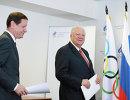 Виталий Смирнов и Александр Жуков (справа налево)