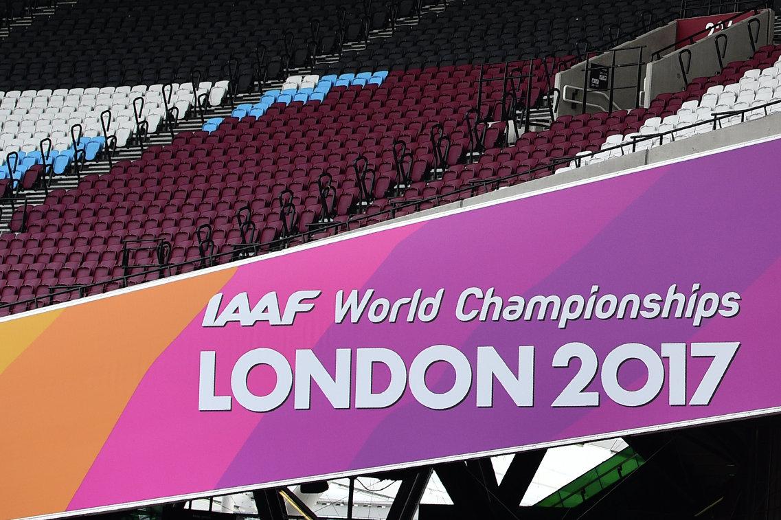 Логотип чемпионата мира по легкой атлетике в Лондоне