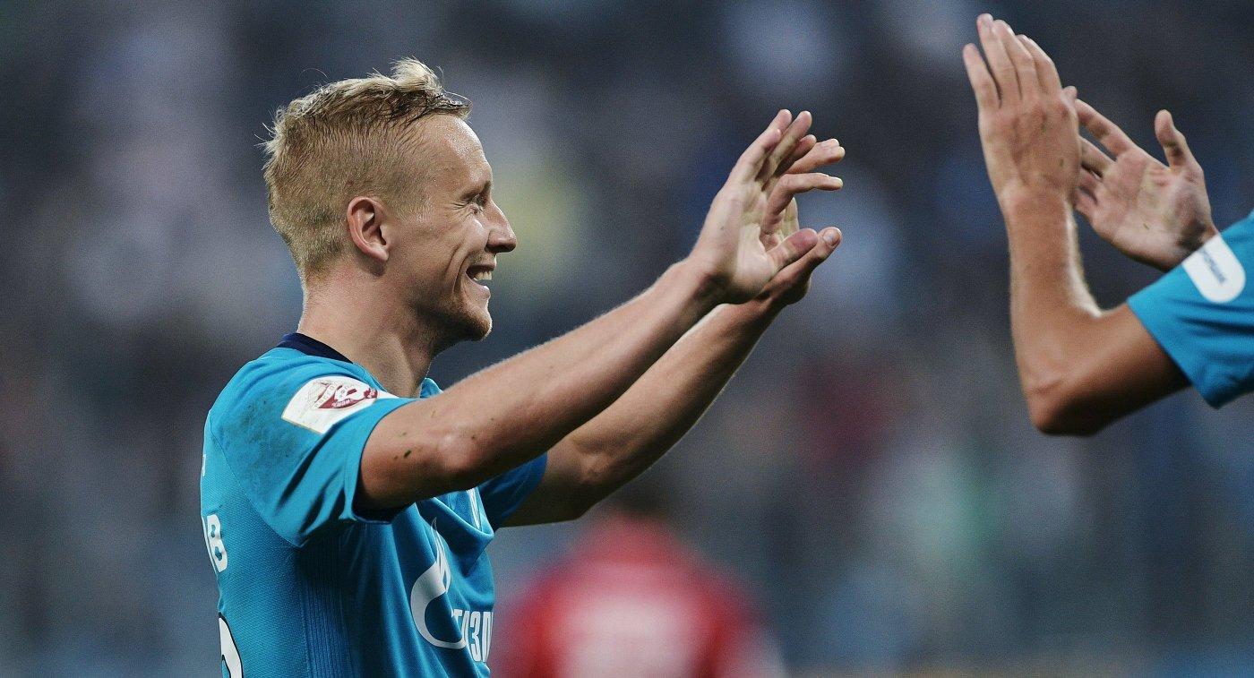 400 болельщиков поддержат «Зенит» на теперешнем матче против «Утрехта»