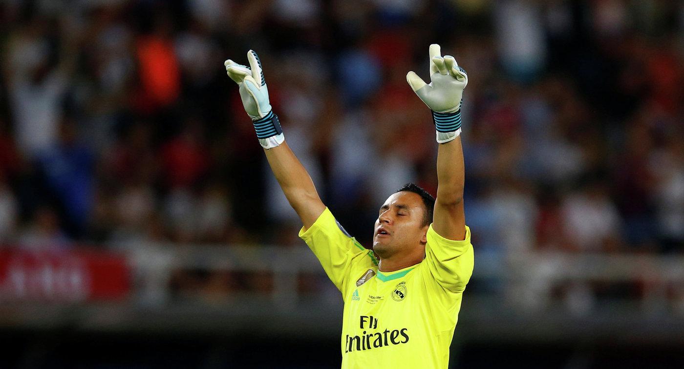 Кейлор Навас— лучший футболист КОНКАКАФ в нынешнем году