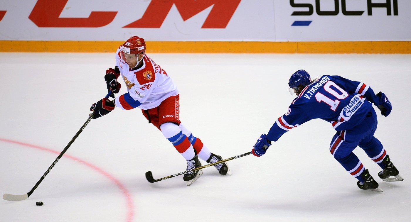 Олимпийская сборнаяРФ выиграла предсезонный хоккейный турнир вСочи