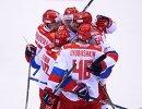 Хоккеисты олимпийской сборной России