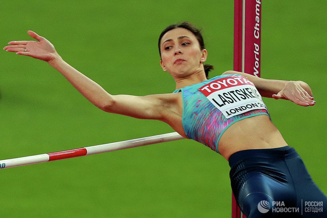 Прыгунья Ласицкене спервой попытки прошла вфиналЧМ
