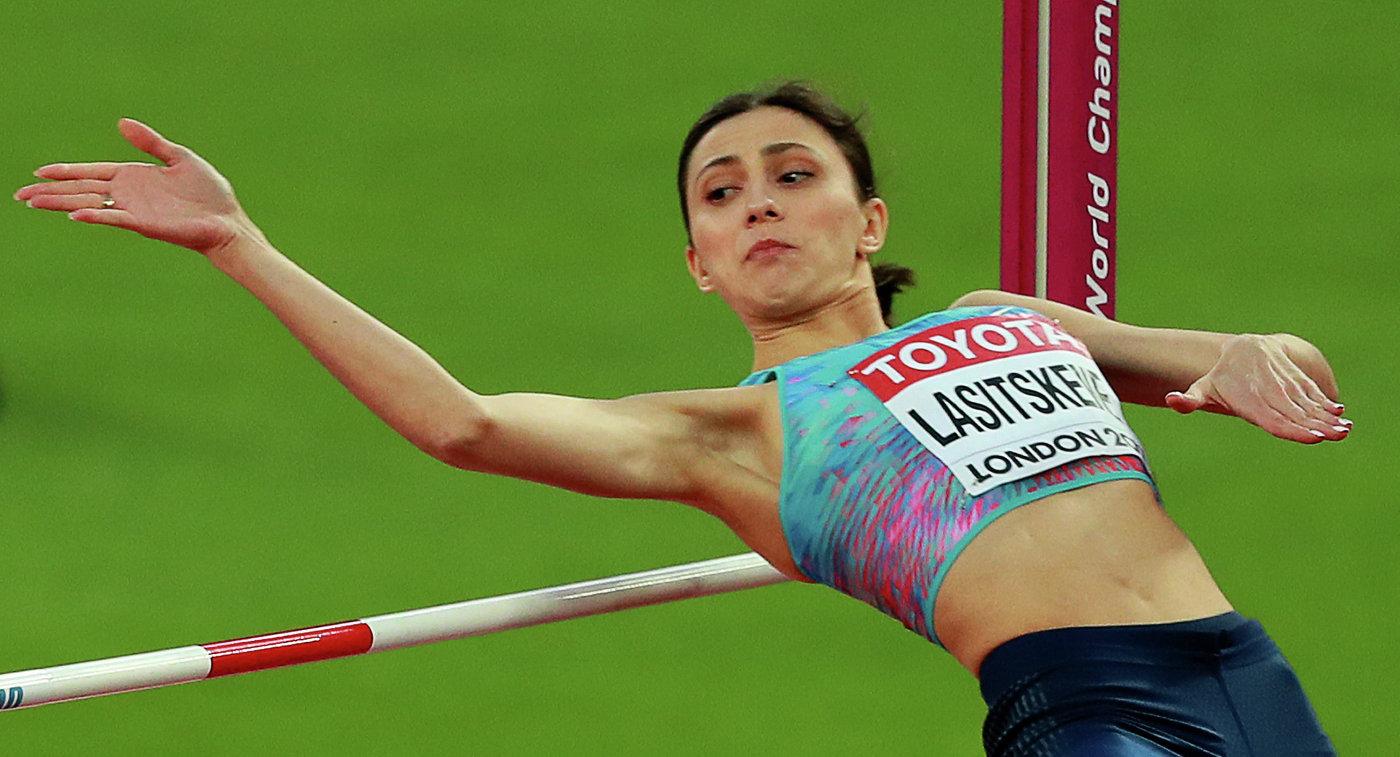 Ласицкене выиграла квалификацию ивышла вфинал впрыжках ввысоту