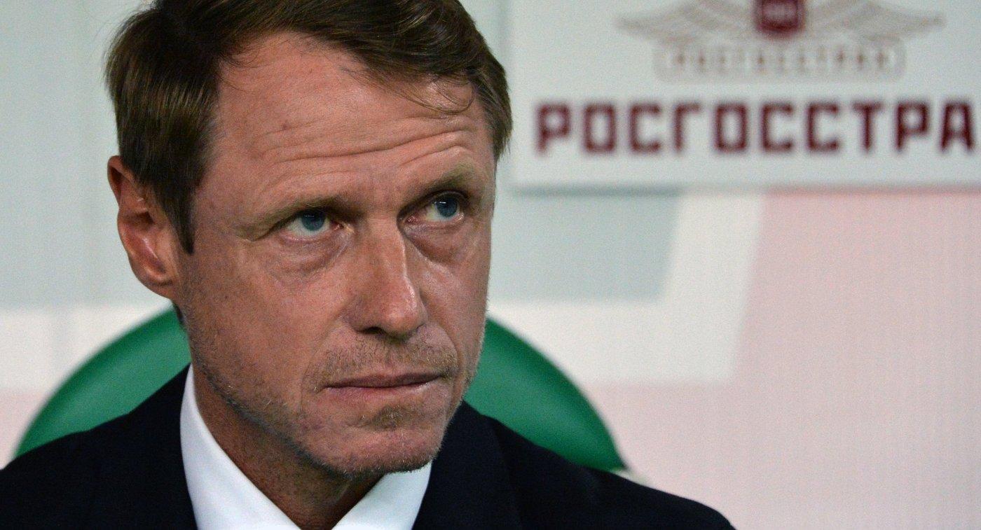 Главный тренер Ахмата Олег Кононов