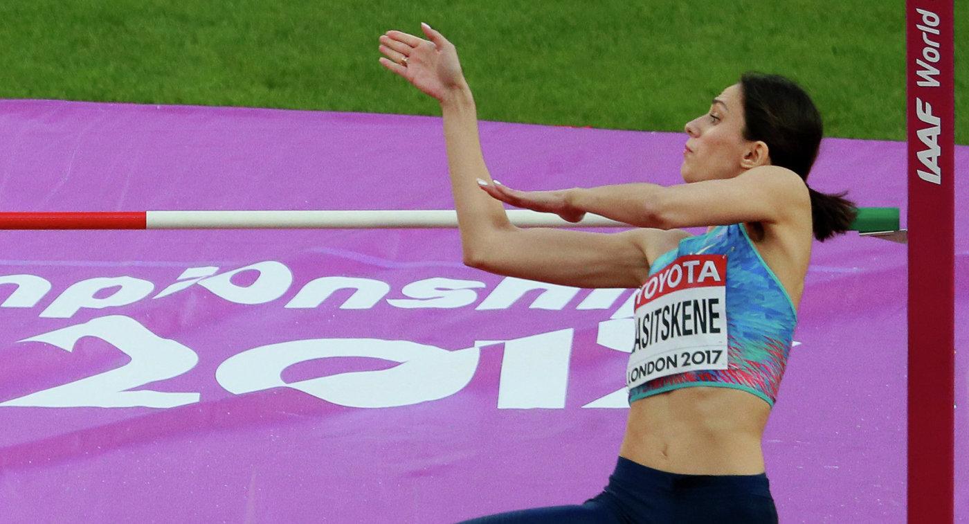 Ласицкене квалифицировалась вфинал чемпионата мира полёгкой атлетике